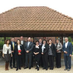 Bezoek Australische delegatie