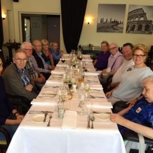Lunchen met de Parkinsongroep bij Hotel de Nieuwe Wereld