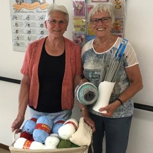 Vrijwilligers Greet en Gerda nemen na mooie jaren afscheid