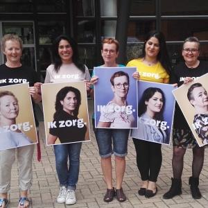 Medewerkers Zinzia gezicht landelijke wervingscampagne