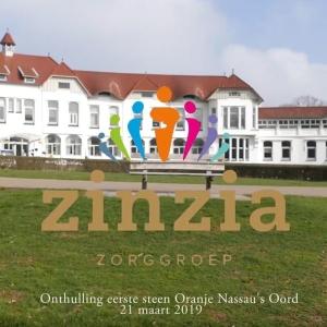 Sfeerimpressie onthulling eerste steen Zinzia