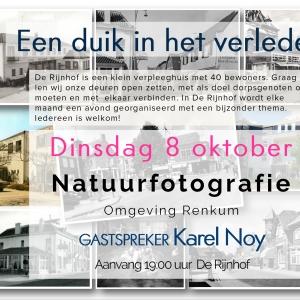 Duik in 8 oktober Karel Noy
