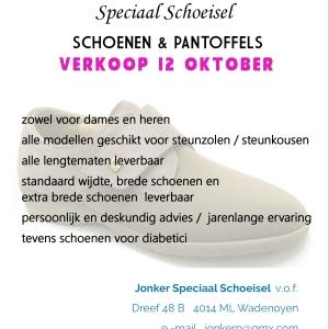 Jonker Schoenenverkoop 12 oktober