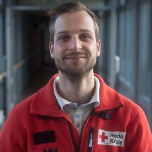Izak vrijwilliger Rode Kruis vertelt…